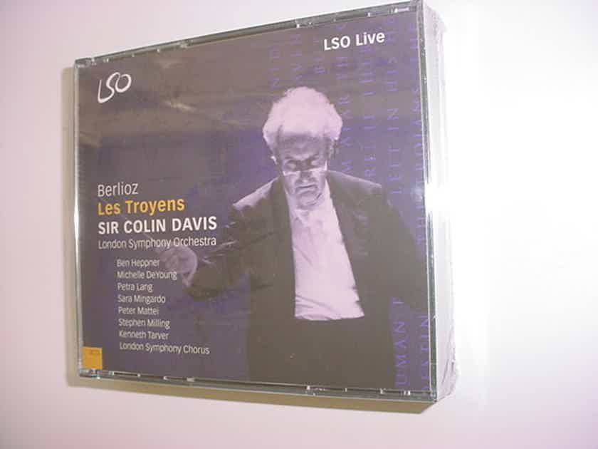 SEALED 4 CD SET Berlioz Les Troyens - Sir Colin Davis London symphony orchestra LSO Recorded LIVE in 2000  2002