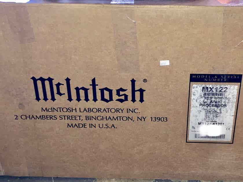 MINT McIntosh MX-122 Dolby Atmos Processor