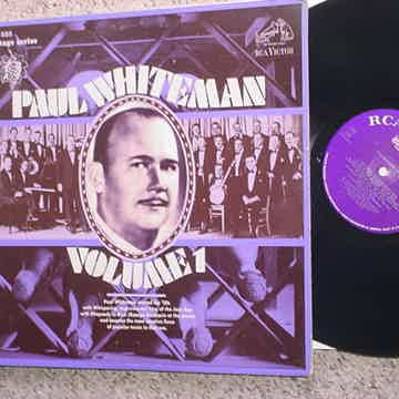 JAZZ Paul Whiteman volume 1 lp record vintage series LPV-555 1968 RCA