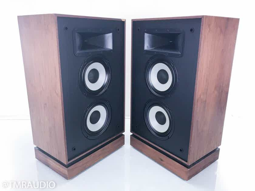 Klipsch KG 4 Vintage Floorstanding Speakers Walnut Pair (13761)