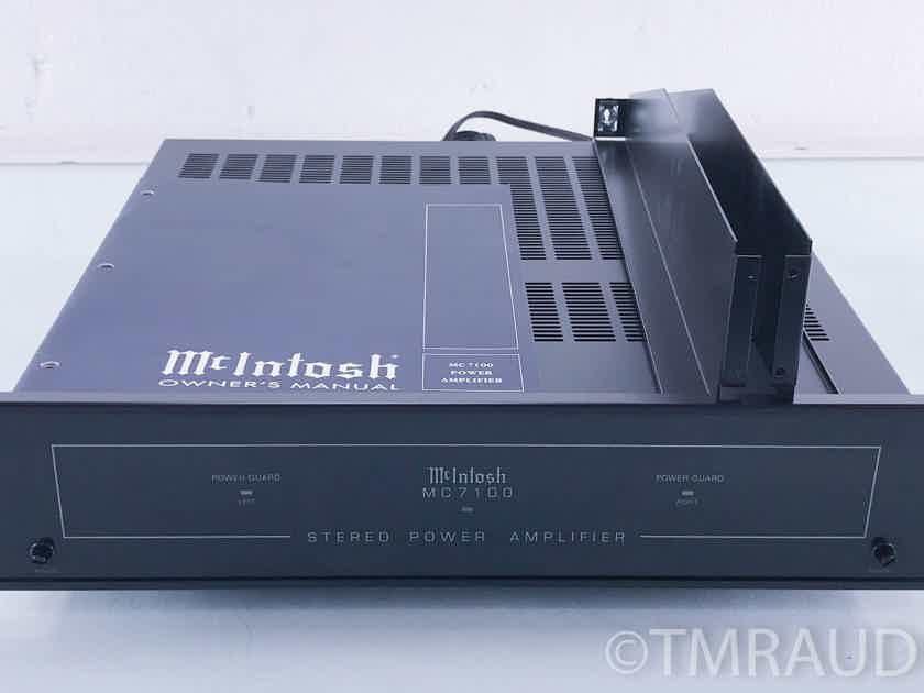 McIntosh MC 7100 Stereo Power Amplifier; MC7100 (10197)