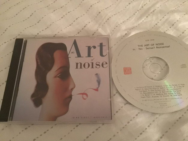 The Art Of Noise China Records Mastered By Nimbus