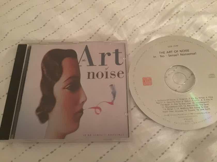 The Art Of Noise China Records Mastered By Nimbus  In No Sense? Nonsense!