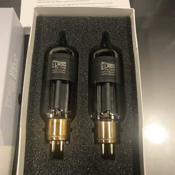 Elrog tubes  300B matched pair