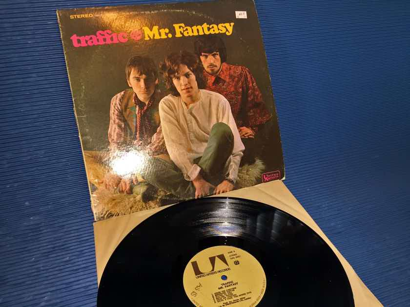 "TRAFFIC - ""Mr. Fantasy"" -  United Artists 1968 (?) Green Strip w/Titles on back tan lbl"