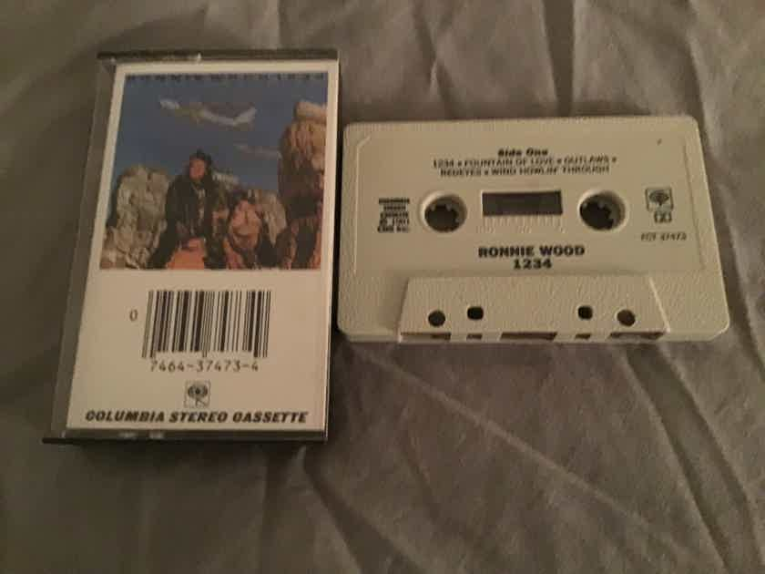 Ronnie Wood 1234 Pre Recorded Cassette