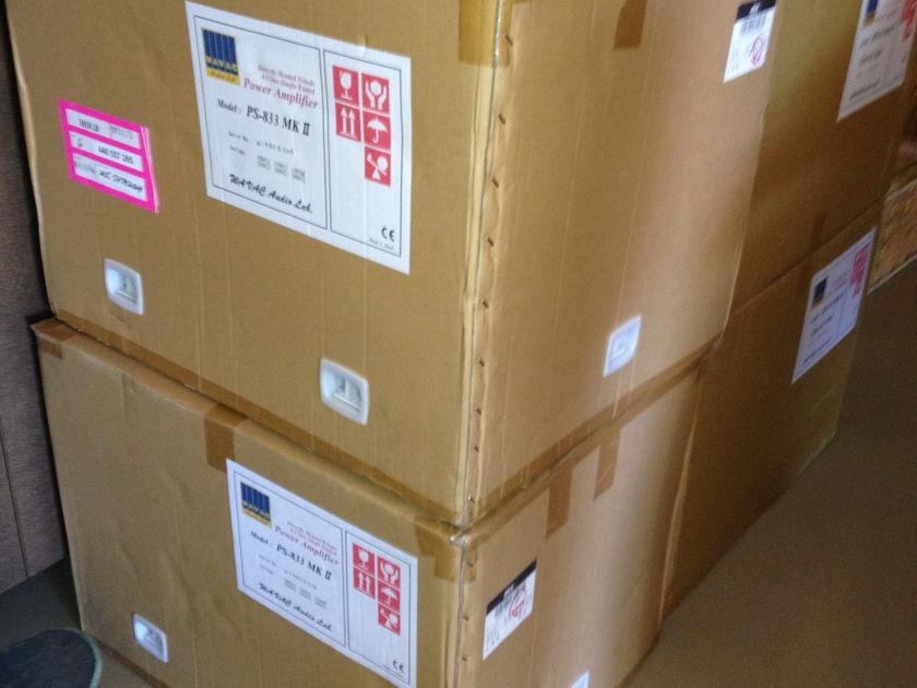 Wavac Audio Lab HE-833MKII World's Best SET Amplifiers :($20,000.00 Price Drop!)