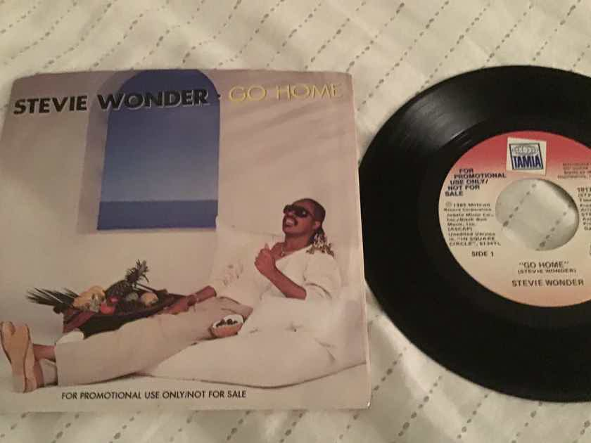 Stevie Wonder  Go Home Promo 45 With Picture Sleeve