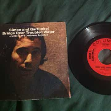 Simon & Garfunkel - Bridge  Over Troubled Water  45 Sin...
