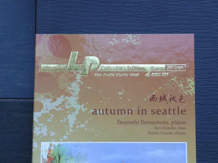 Tsuyoshi Yamamoto Autumn In Seattle - FIM - Clarity Vinyl - Mint
