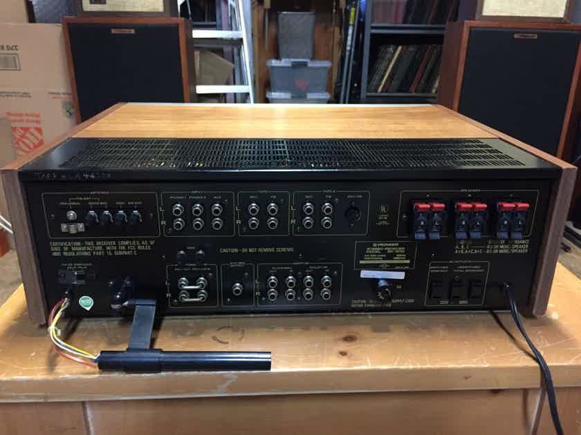 Pioneer SX-1010 Receiver - Fully Restored and Recapped