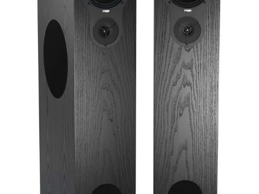 REGA RX5 Floorstanding Speakers (Cherry & Black Ash): NEW-In-Box; Full Warranty; 50% Off
