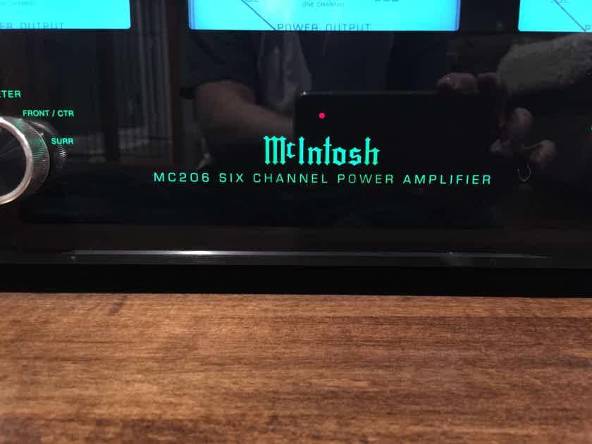 McIntosh MC-206 6 Channel Amplifier