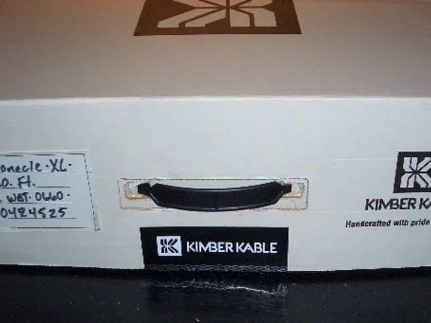 Kimber Kable Monocle XL 6 meter pair WBT 0660 spades