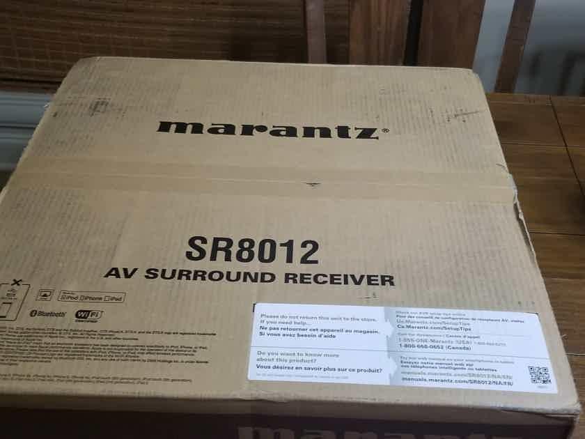Marantz SR8012 11.2 channel Atmos Receiver Brand New in Box Sealed
