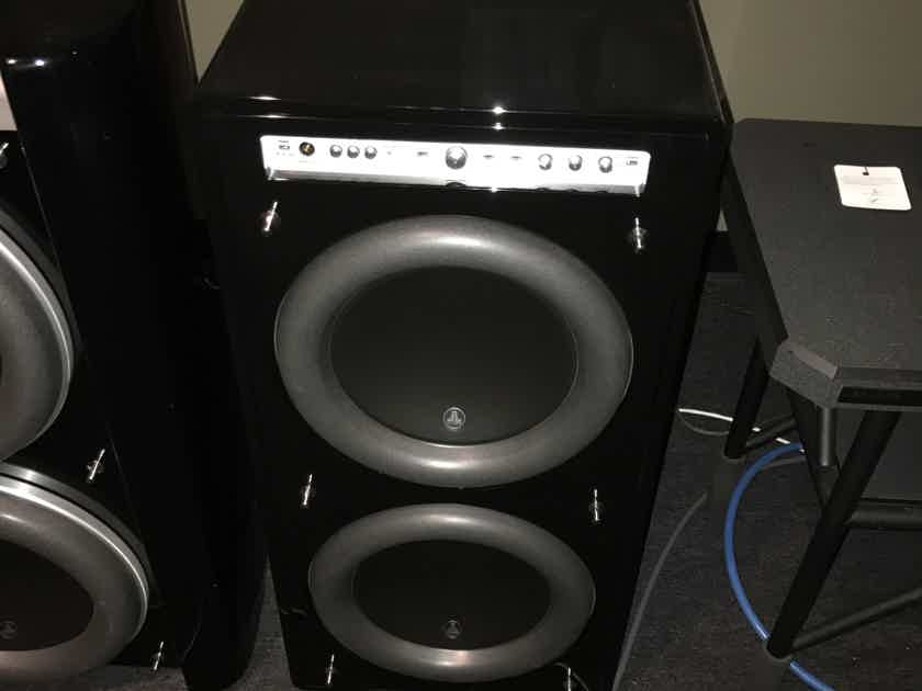 JL Audio Fathom 212 with box and papers