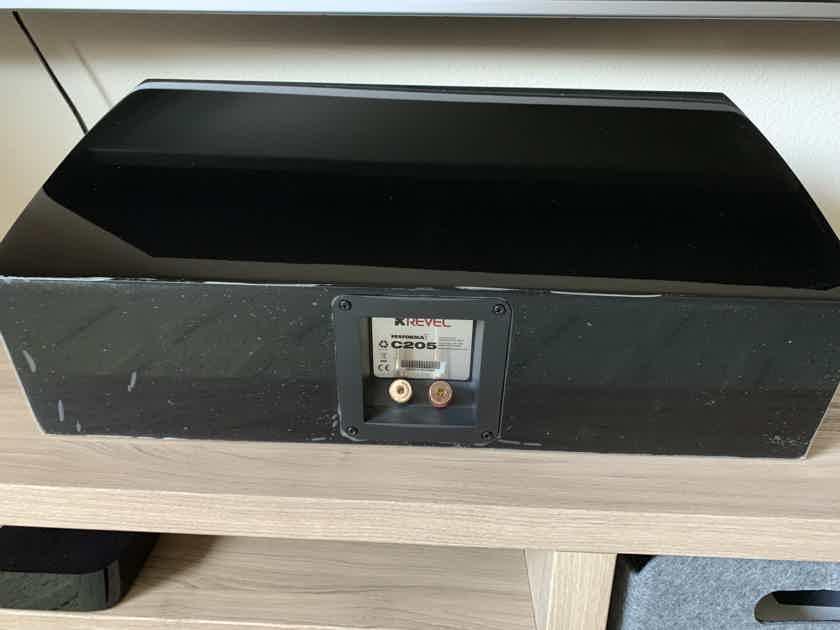 Revel Performa3 C205 Center channel speaker (Piano Black)