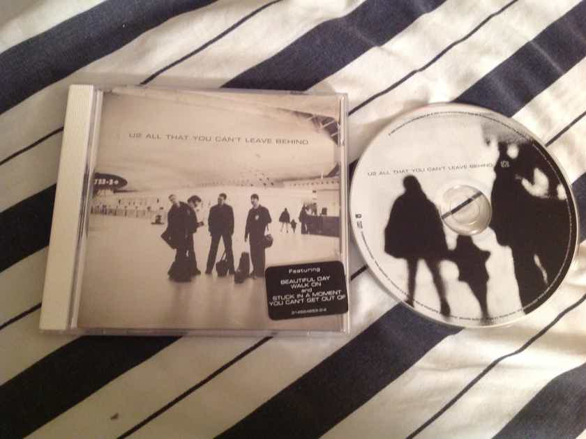 U2 All That You Can't Leave Behind With Hyper Sticker