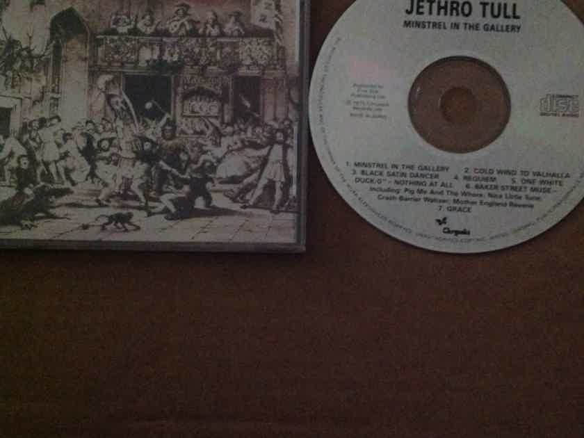 Jethro Tull - Minstrel In The Gallery Chrysalis Records U.K. Compact Disc