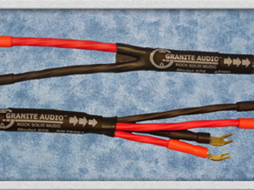 Granite Audio 577 - 7AWG Speaker Cable. 8Ft. Pair. New 2012 Product ...