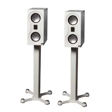MONITOR AUDIO Studio Bookshelf Speakers & Stand Combo (...