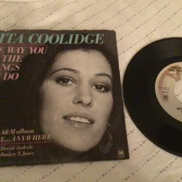 Rita Coolidge 45 With Picture Sleeve  The Way You Do Th...