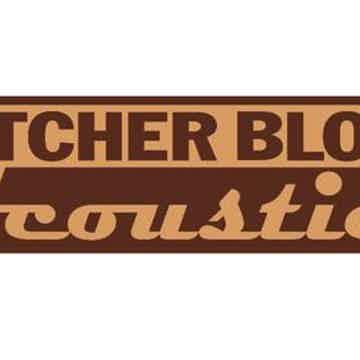 """Butcher Block Acoustics 24"""" X 18"""" X 3"""" Maple Edge-Grain Audio Platform"""