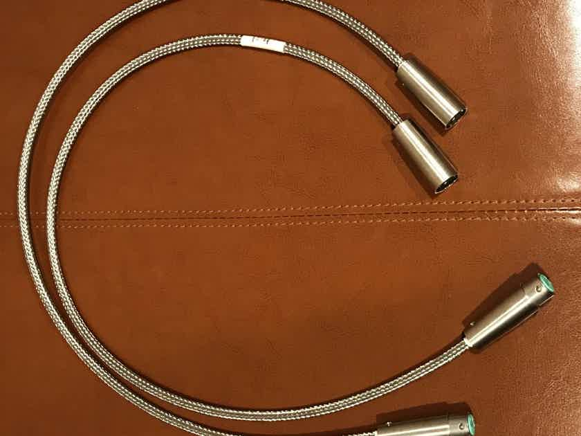 Cabledyne Reference Copper XLR Cables (0.7m)
