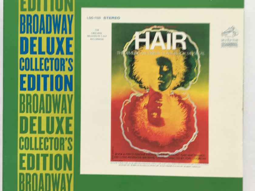 Hair Broadway deluxe collectors edition Cd set