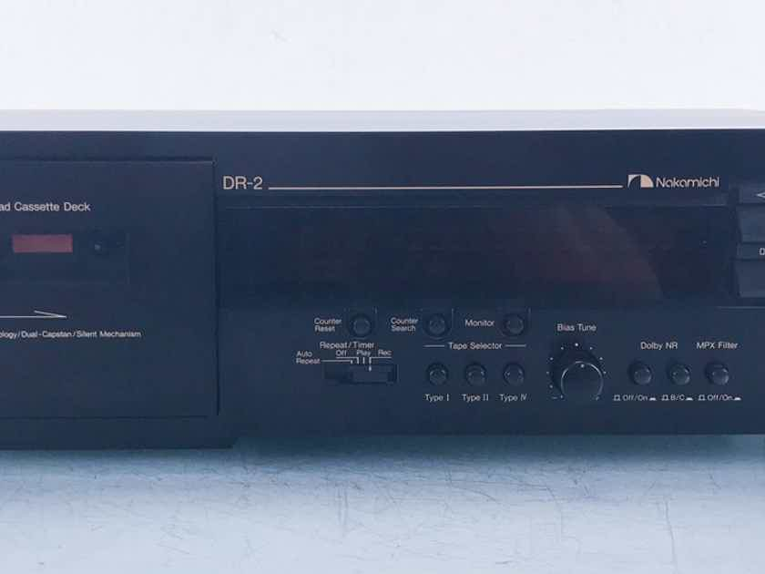 Nakamichi DR-2 Tape Recorder / Player DR2 (15260)
