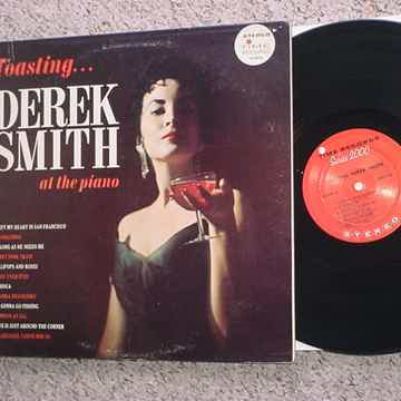 jazz Toasting Derek Smith at the piano lp record Stereo Time s/2075