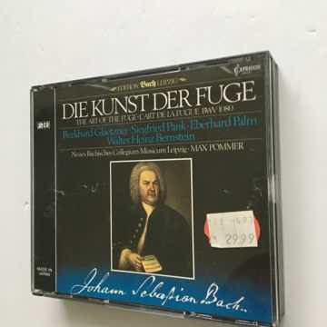 Johann Sebastian Bach Burkhard Glaetzner Die Kunst Der Fuge Cd set 1984