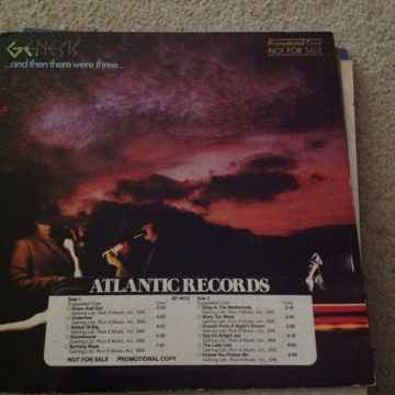 Genesis - And Then There Were Three Atlantic Records LP...