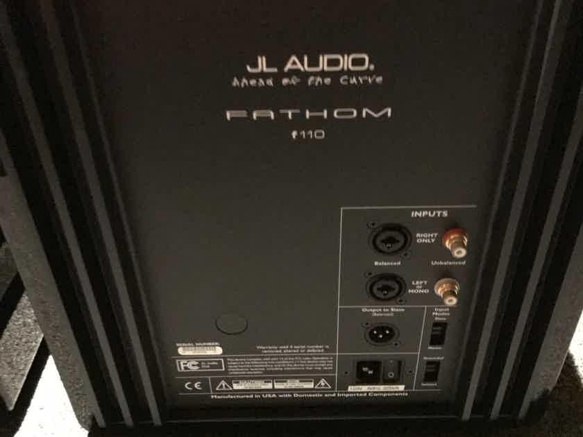 JL Audio Fathom 110 pair available
