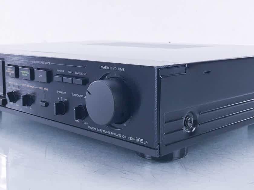 Sony SDP-505ES Digital Surround Processor / Amplifier (12409)