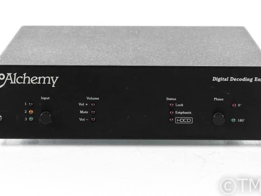 Audio Alchemy Digital Decoding Engine V3.0 DAC; Remote; Power Station 4 PSU; DDE (21707)