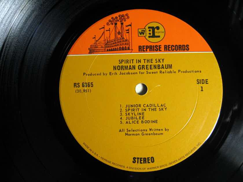 Norman Greenbaum - Spirit In The Sky - 1969 Reprise Records RS 6365
