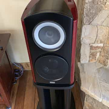 TAD CR1 Mkii mint speakers w/ matching stands