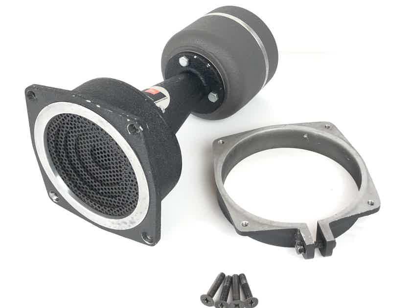 (1) JBL 2461 16-Ohms Speaker Driver w/ 2301 Potato Masher Horn Lens & Mounting Bracket
