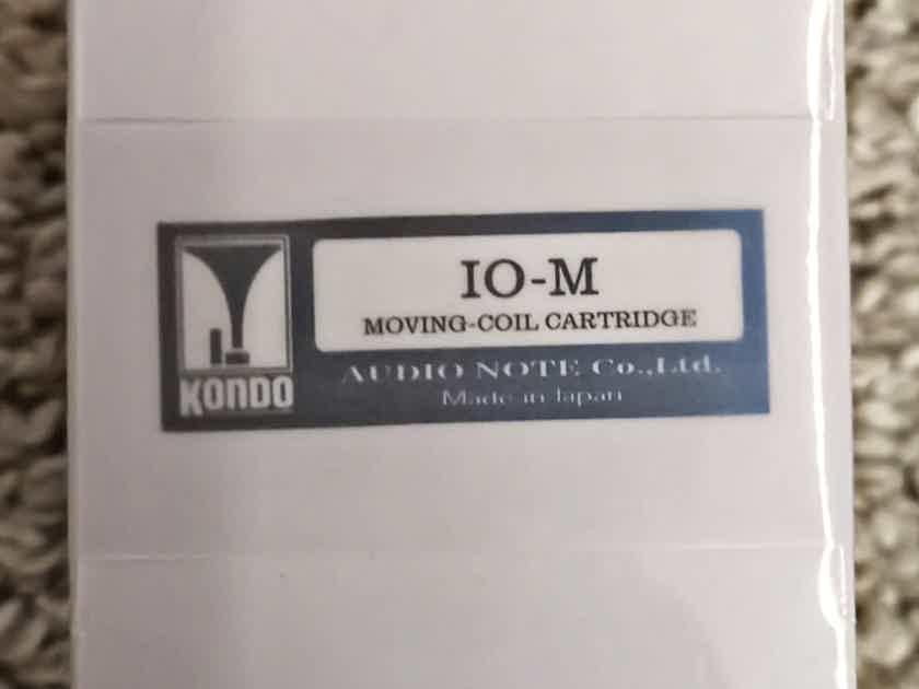 Kondo AudioNote Japan IO-M Moving-Coil Cartridge