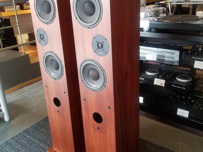 ProAc Studio 200 Floorstanding Speakers w/ Spikes & Grilles - Amazing Sound!