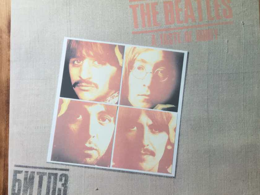 The Beatles - Taste of Honey Russian LP