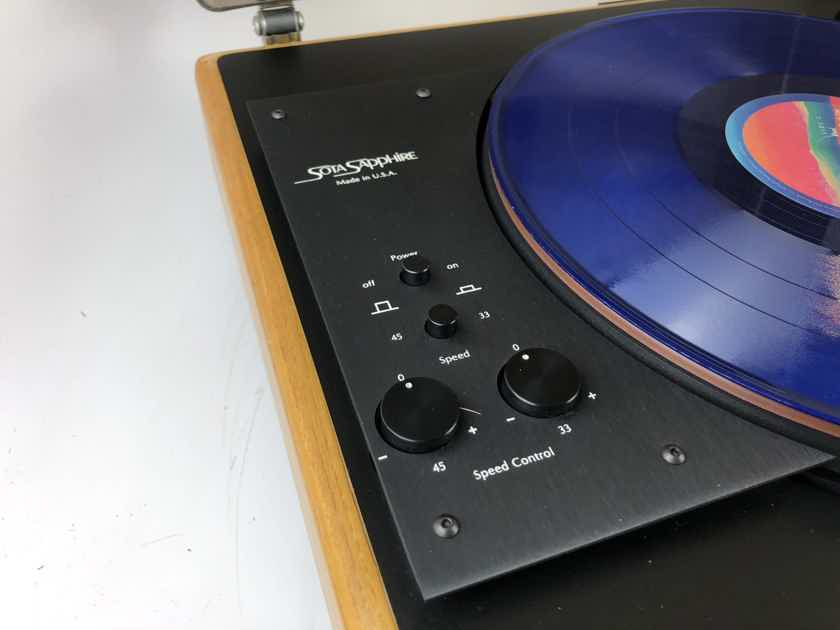 Sota Sapphire Turntable with Sumiko Premier FT3 Tonearm and New Grado Cart