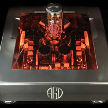 AGD VIVACE GaN Tube MONO amps. This is the future of am...