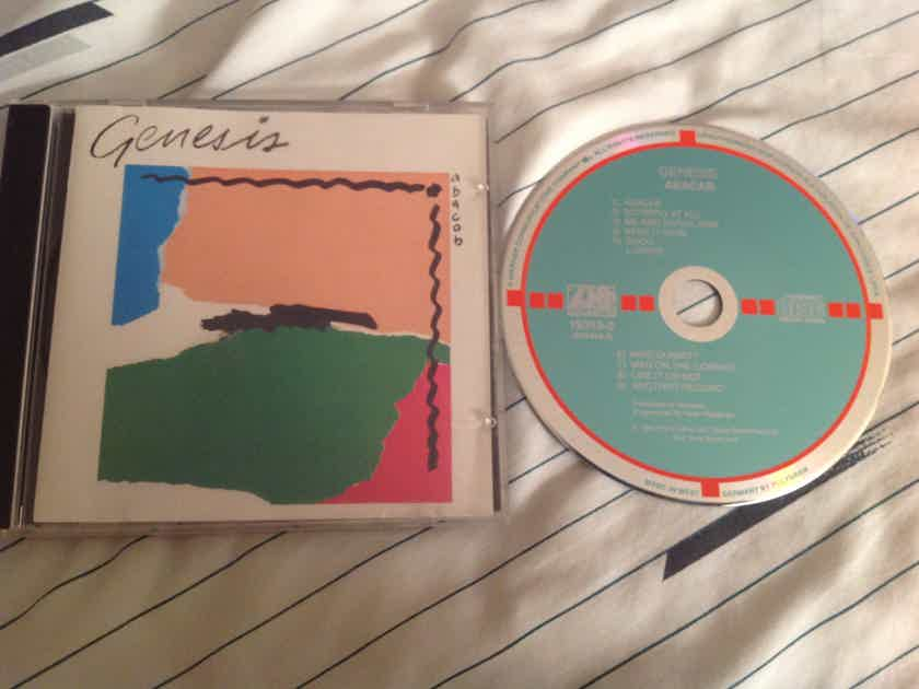 Genesis  Abacab Atlantic Records West Germany Target Smooth Jewel Case