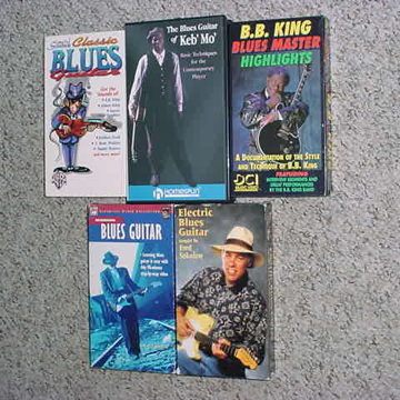 mostly guitar instruction & 1 BB King