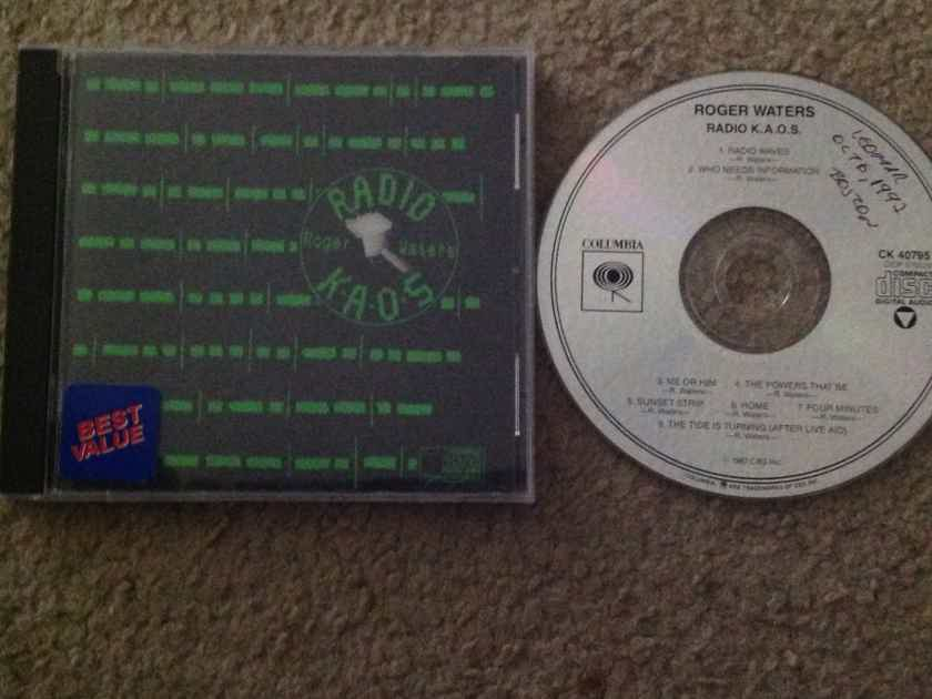 Roger Waters - Radio KA.O.S. Columbia Records Compact Disc Not Remastered