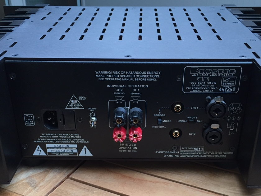 Bryston 4B-ST Power Amp