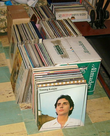50 LPs from my record