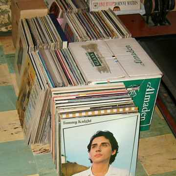 50 LPs from my record collection at buyer's choice